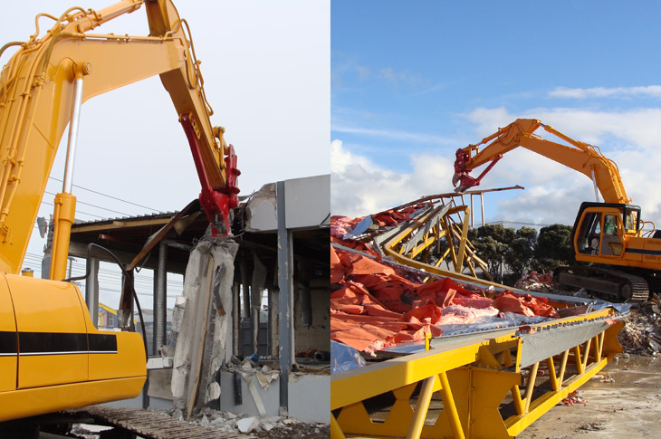 Kauri Warehouse Demolition Service